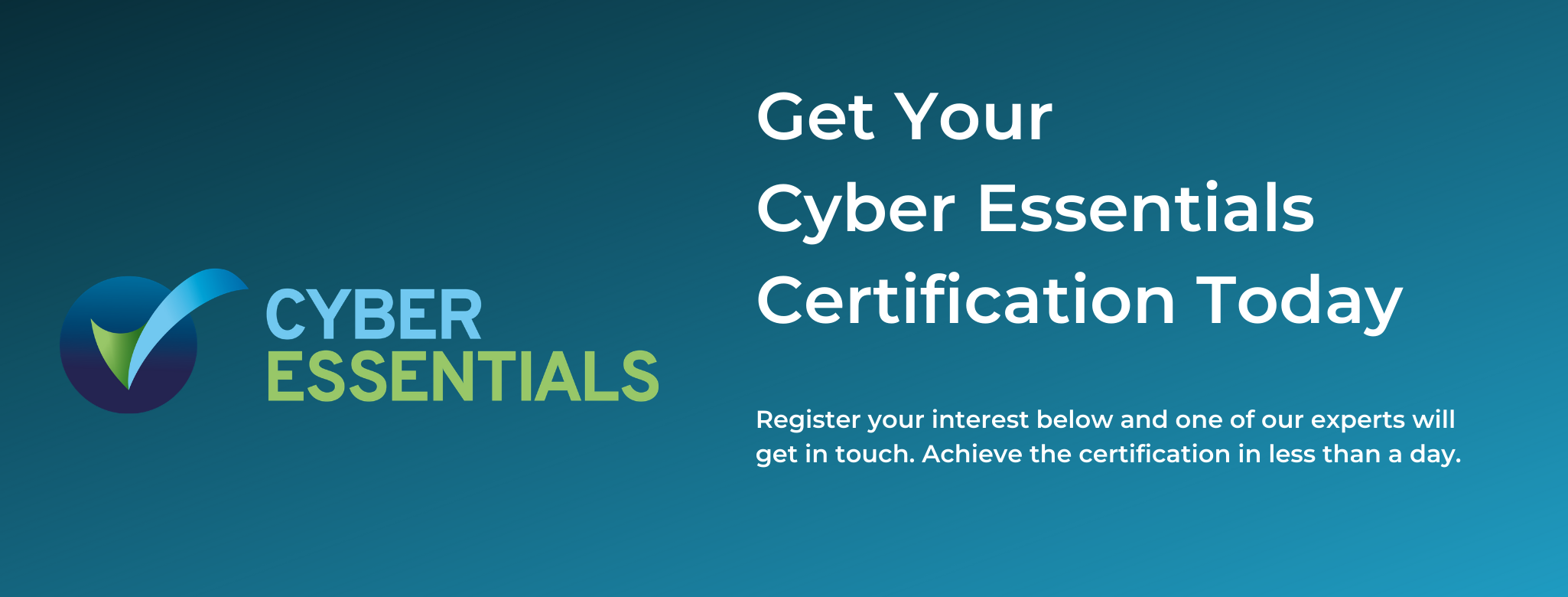 Get Your Cyber Essentials Certification Today